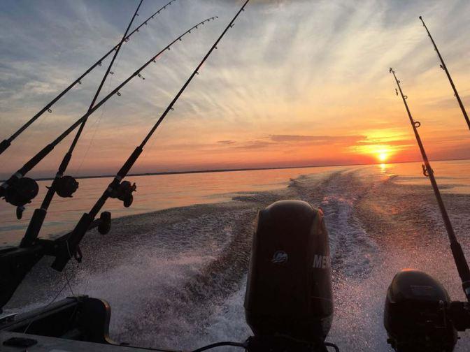 Fishing BIG water Lake Ontario CLOSA derby